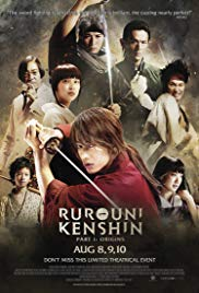 Watch Free Rurouni Kenshin Part I: Origins (2012)