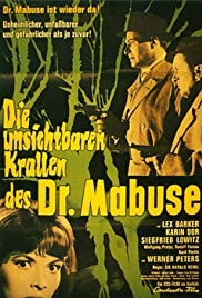Watch Free The Invisible Dr. Mabuse (1962)