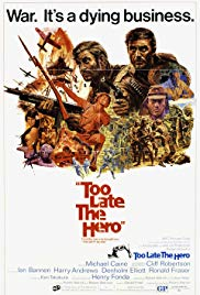 Watch Free Too Late the Hero (1970)
